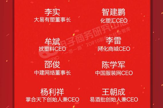 """大易有塑李实入选""""改革开放40年100位电商功勋人物""""榜单"""
