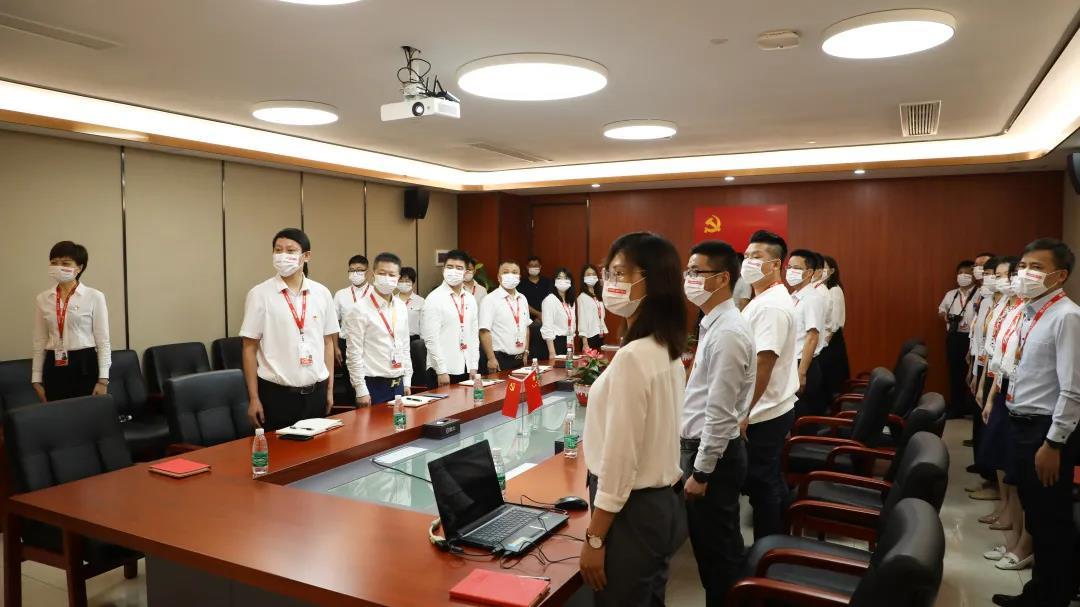 盟大党支部隆重举行庆祝中国共产党成立100周年主题座谈会